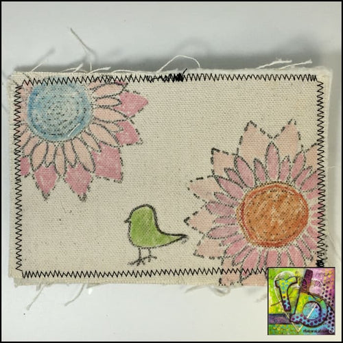 Canvas Postcard Journal Accessories
