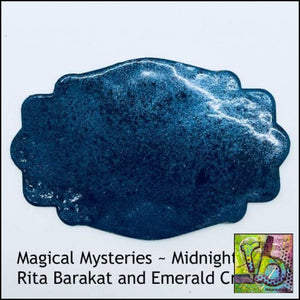 Embossing Powder Magical Mysteries Midnight Magic (Glows In The Dark!)