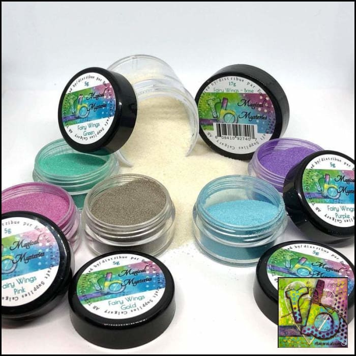 Embossing Powders Magical Mysteries The Fairy Wings Kit Powder