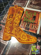 Load image into Gallery viewer, Foam Art Stamp Cowboy Boot