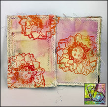 Load image into Gallery viewer, Foam Art Stamp Flowers Dahlia
