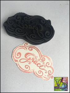 Foam Art Stamp Grace