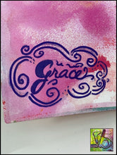 Load image into Gallery viewer, Foam Art Stamp Grace