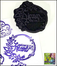 Load image into Gallery viewer, Foam Art Stamp Grateful Heart