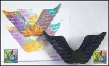 Load image into Gallery viewer, Foam Art Stamp Heart Wings