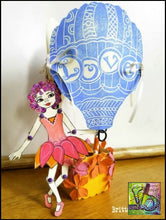 Load image into Gallery viewer, Foam Art Stamp Hot Air Balloon