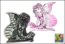 Load image into Gallery viewer, Foam Art Stamp Mushroom Fairy