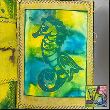 Load image into Gallery viewer, Foam Art Stamp Seahorse
