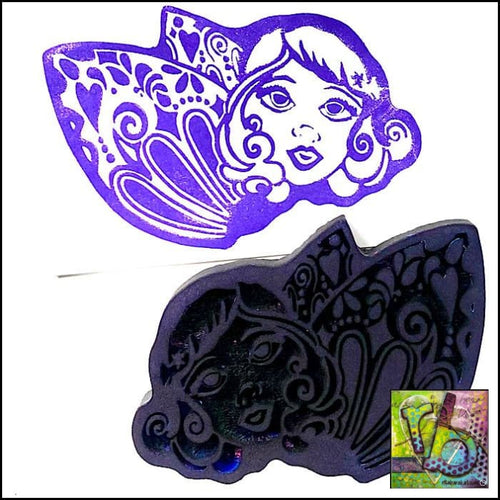Foam Art Stamp The First Fairy