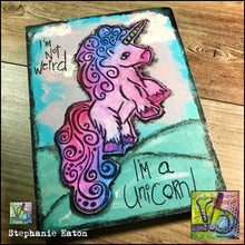 Load image into Gallery viewer, Foam Art Stamp Unicorn
