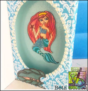 Mermaid Princess Stamp