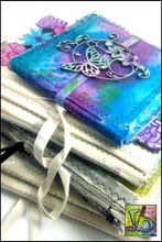 Load image into Gallery viewer, Mixed Stitch Canvas Art Journal Mini Journals