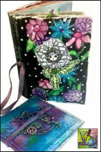 Load image into Gallery viewer, Mixed Stitch Canvas Art Journal Small Journals