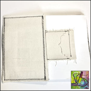 Mixed Stitch Canvas Art Journal Small Journals