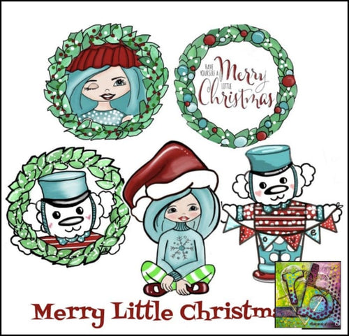 Paper Ephemera Merry Little Christmas