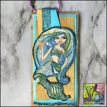 Load image into Gallery viewer, Paper Ephemera Mystical Mermaids Die Cuts