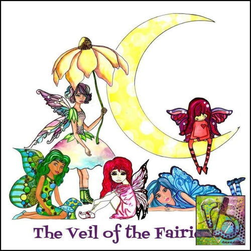 Paper Ephemera Veil Of The Fairies Die Cuts