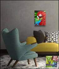 Load image into Gallery viewer, The Great Macaw original oil painting by Rita Barakat