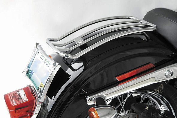 "7"" Solo Luggage Rack for Harley-Davidson Softail Lowrider and Sport Glide Models 2018 & Up (MWL-118)"