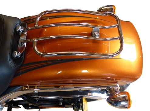 "7"" Solo Luggage Rack for H-D Heritage Softail Classic & Softail Deluxe Models 2018 & Up (MWL-137-18)"