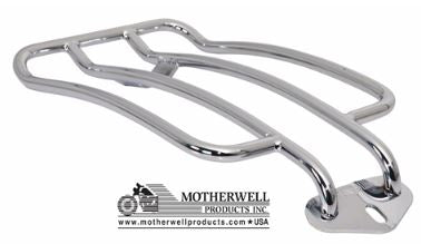 "6"" Solo Luggage Rack for Harley-Davidson Softail Slim Models 2012-2017 (MWL-151)"