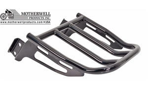 Open image in slideshow, 2-Up Sissybar Luggage Rack for Most H-D Softail & Dyna Models Up to 2017 (MWL-165)