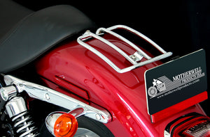 "Open image in slideshow, 6"" Solo Luggage Rack for Harley-Davidson Sportster & Nightster Models 2004 & Up (MWL-216)"