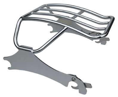 Curved Solo  Detachable Luggage Rack for Indian Chieftain, Roadmaster, Springfield, Challenger 2014 & Up (MWL-630-CRV)