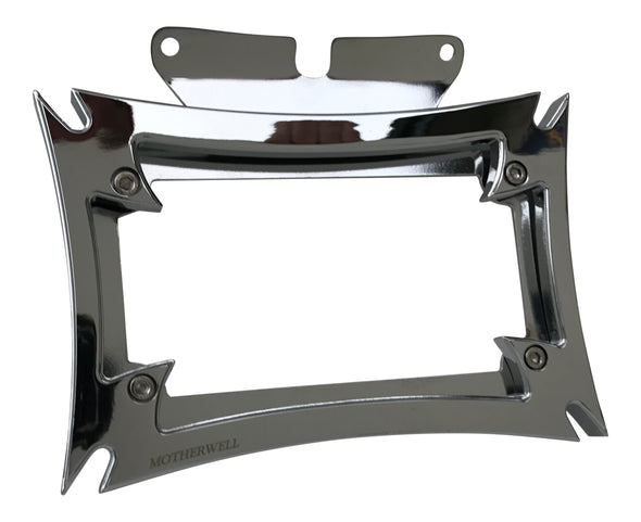 Maltese License Plate Frame for Harley-Davidson Road Glide & Street Glide Models (MWL-862)