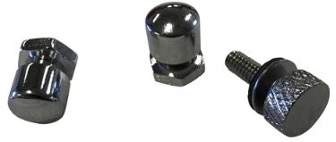 Seat Mounting Knobs with Low Profile National Coarse Thread Thumbscrew for Harley-Davidson Motorcycle Models