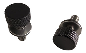 Open image in slideshow, 2x Low-Profile National Coarse Thread Thumbscrew for H-D Motorcycles (PC-4014-2)