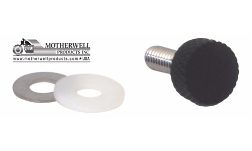 Low Profile National Coarse Thread Thumbscrew for Harley-Davidson Motorcycle Models