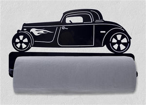 Open image in slideshow, Hot Rod Car Paper Towel Holder