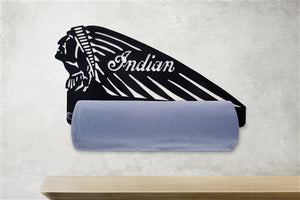 Indian Motorcycle Paper Towel Roll Holder