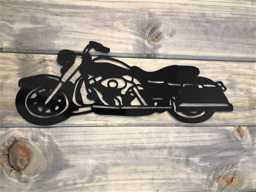 HD Touring Road King Motorcycle Steel Sign