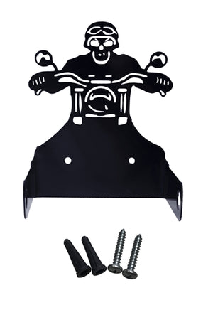 Open image in slideshow, Skull Motorcycle Rider Toilet Paper Dispenser