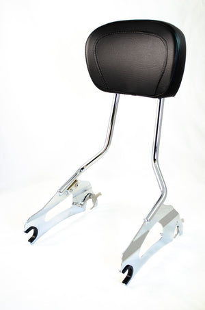 Open image in slideshow, Quick-Release 2UP Sissybar Backrest for Indian Chieftain, Roadmaster, Springfield 2014 & up, Challenger 2020