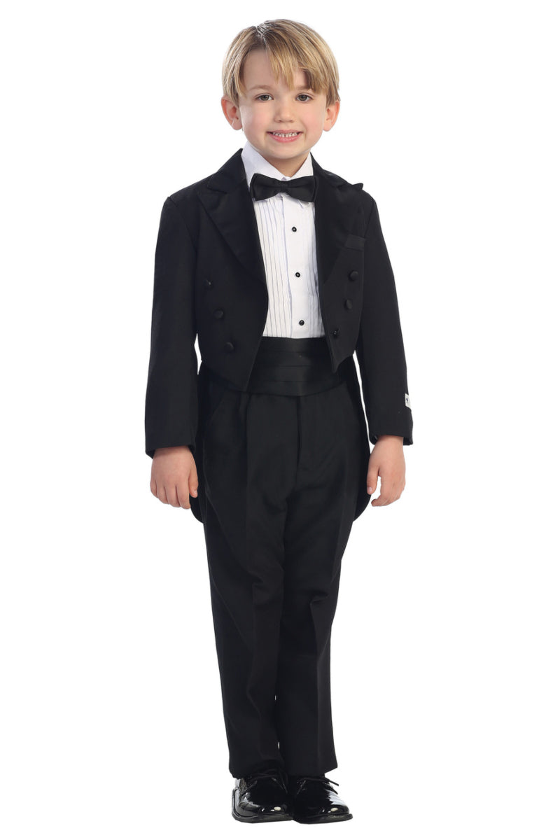 tip top kids Peak Collar Tailed Tuxedo Set available at carmens designs toronto
