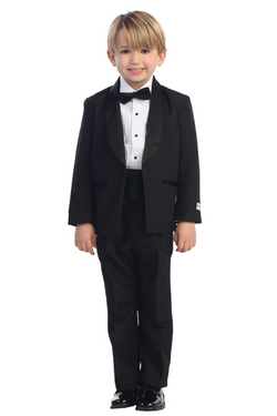 Baby Boy No Tail Round Shawl Collar Tuxedo Set available at carmens designs toronto