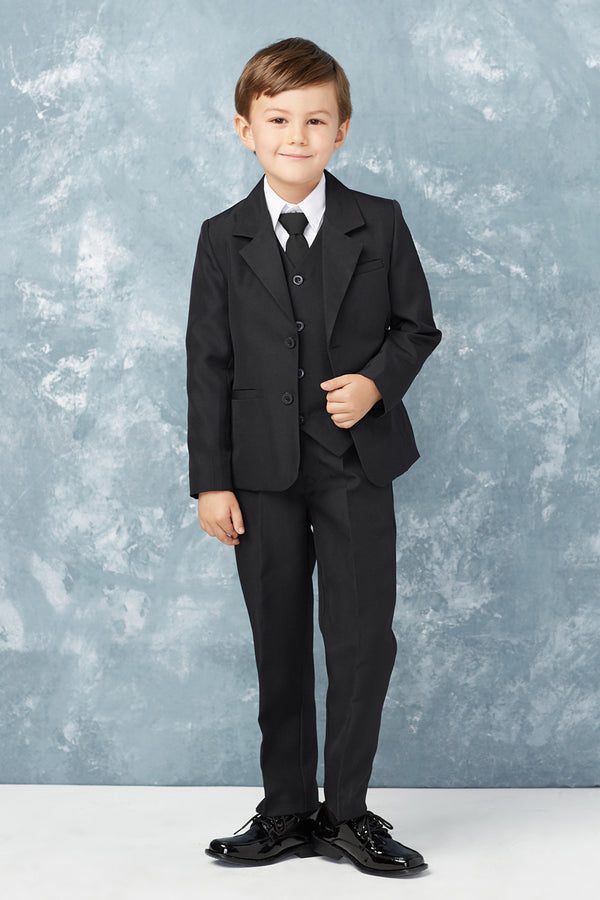 tip top kids Baby Boy Slim Fit 2 Button 5-Piece Suit available at carmens designs toronto