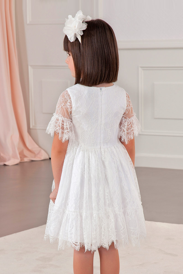 carmens designs girls fine lace dress for parties and weddings