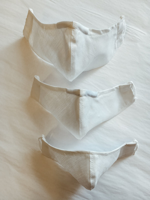 handmade cotton non medical face mask for communion