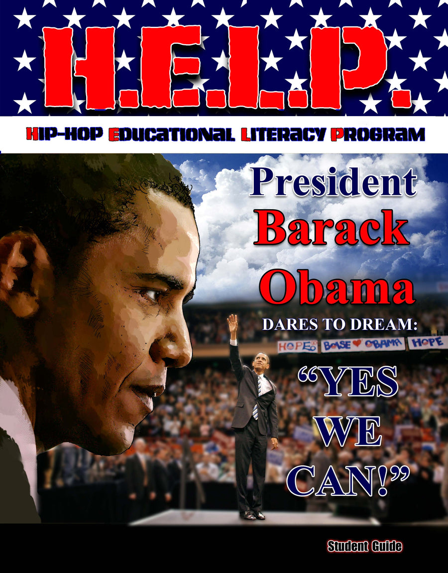 "H.E.L.P. Student Guide — Barack Obama w/will.i.am ""Yes We Can"""