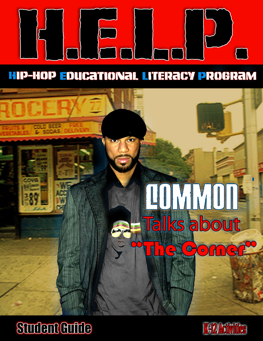 "H.E.L.P. Student Guide — Common — ""The Corner"""