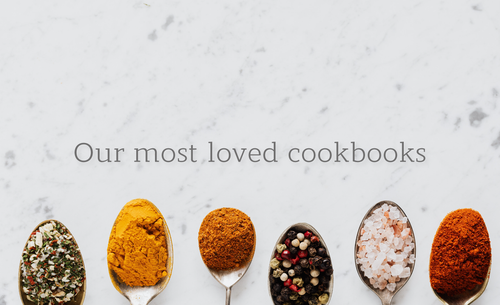 Our most loved cookbooks