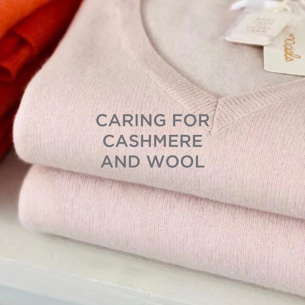 Caring for cashmere and wool