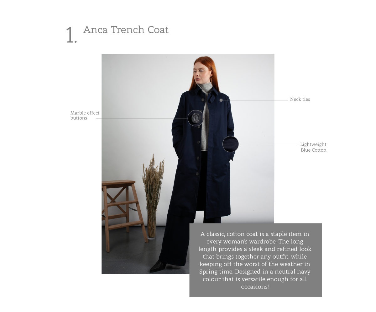 Anca Trench Coat