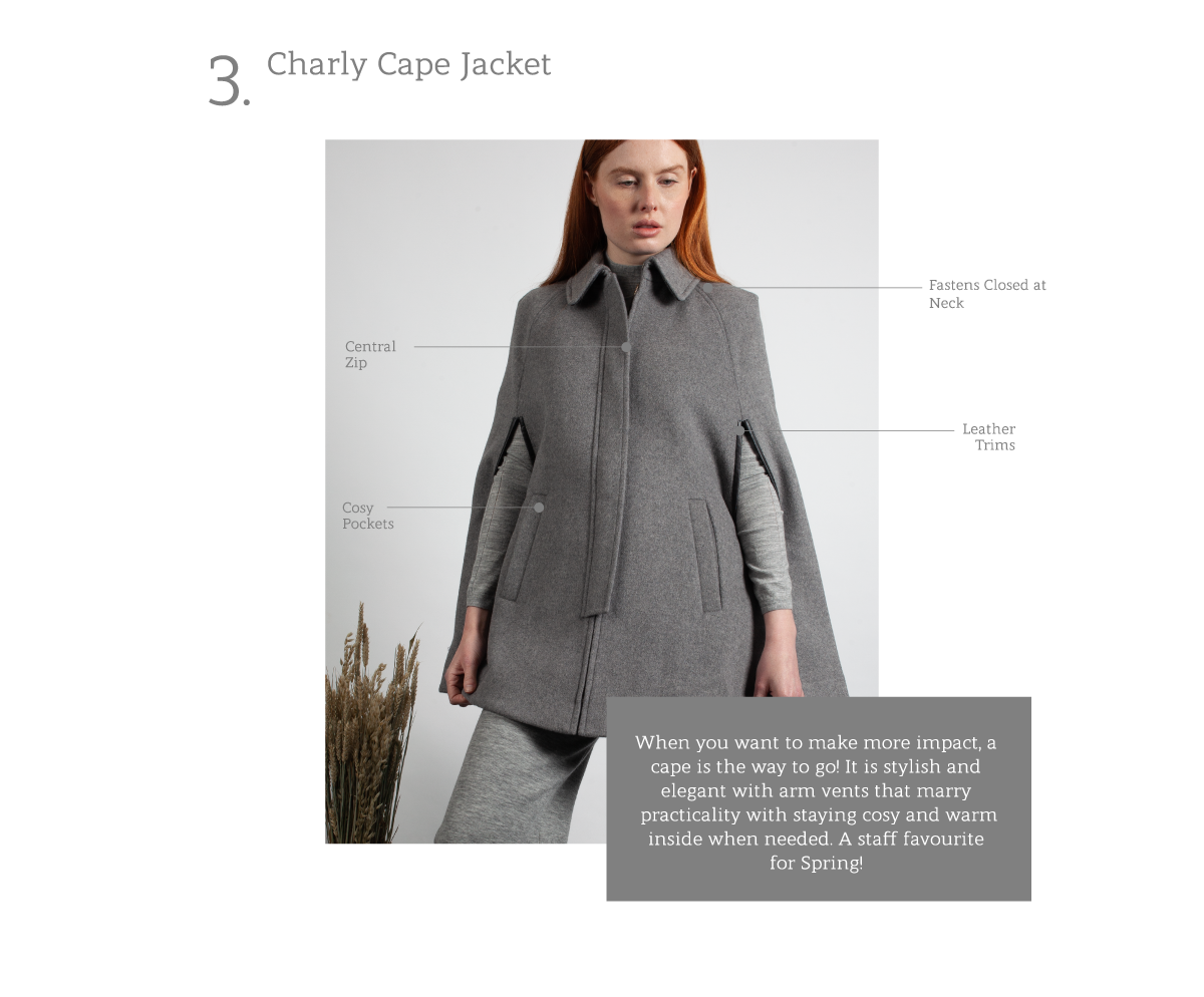 Charly Cape Jacket