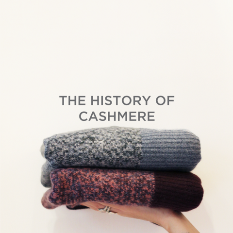 cashmere folded jumpers