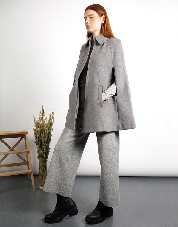 Wool, Grey Cape